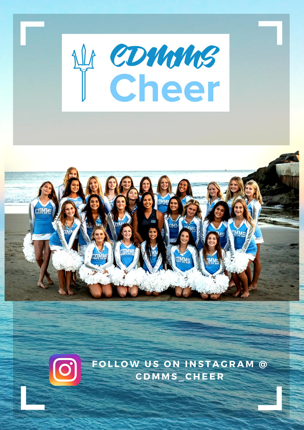 MS Cheer photo